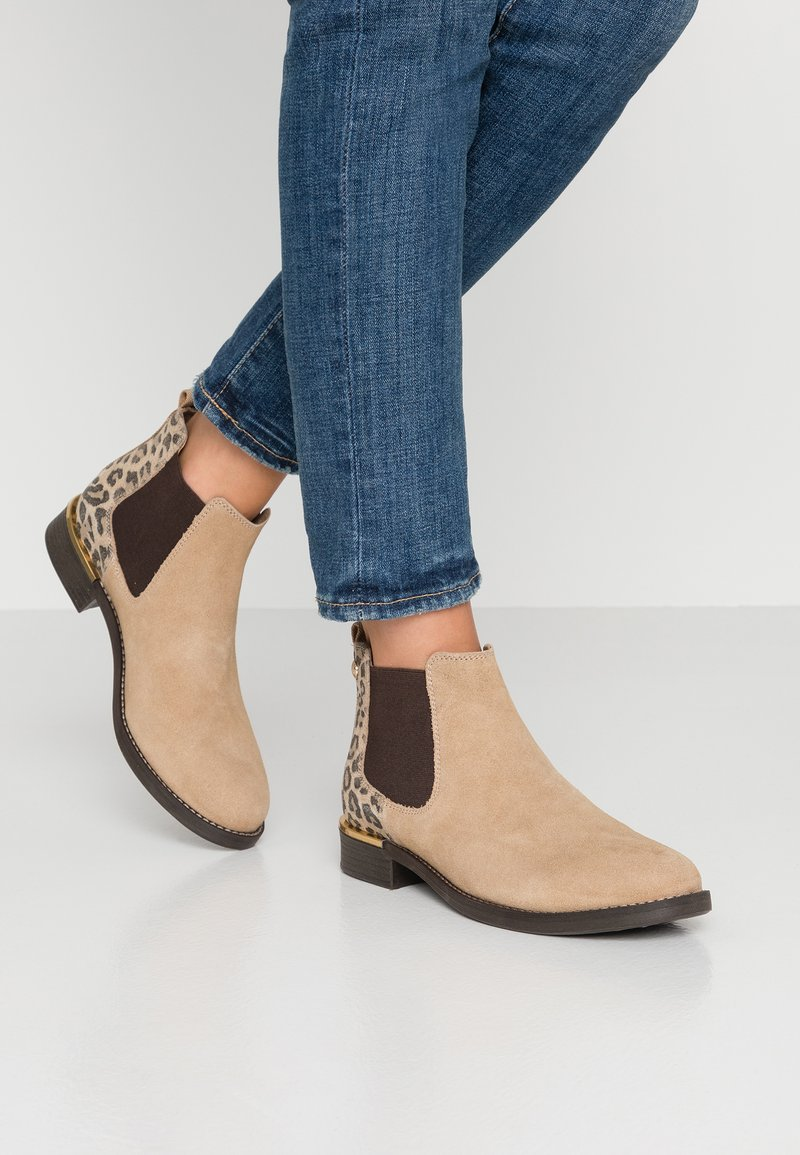 s.Oliver - Ankle boots - sand