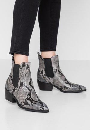 Kovbojské/motorkářské boty - grey