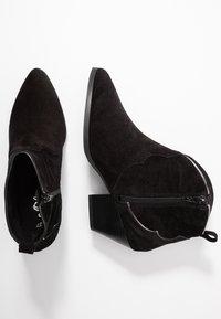 s.Oliver - Ankle boot - black/pewter - 3