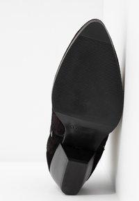 s.Oliver - Ankle boot - black/pewter - 6
