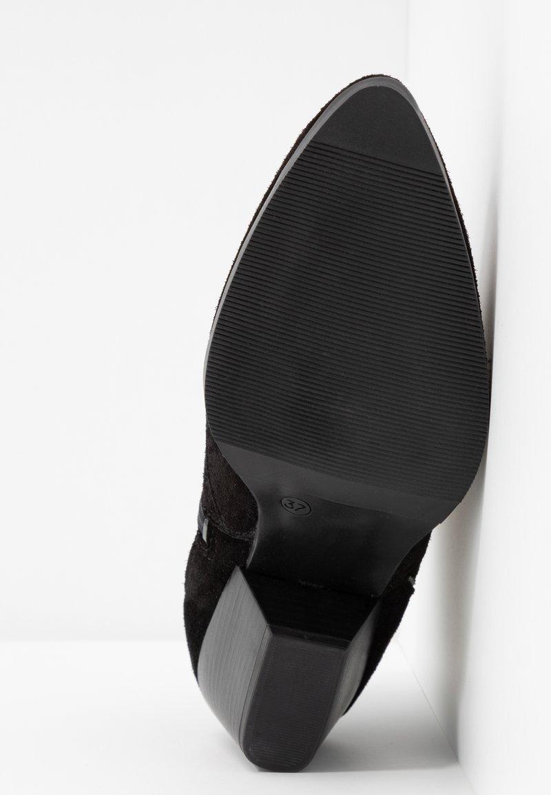Black Boots Talons S À oliver pewter lKJF1c