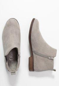 s.Oliver - Kotníková obuv - grey - 3