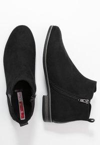 s.Oliver - Kotníková obuv - black - 3