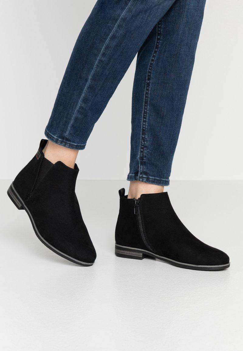 s.Oliver - Kotníková obuv - black