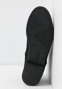 s.Oliver - Kotníková obuv - black - 6