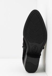 s.Oliver - Boots à talons - black - 6