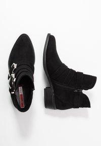 s.Oliver - Boots à talons - black - 3