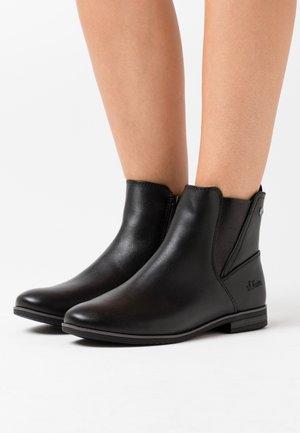 WOMS BOOTS - Kotníková obuv - black