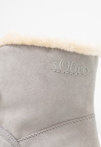 s.Oliver - Classic ankle boots - grey - 2