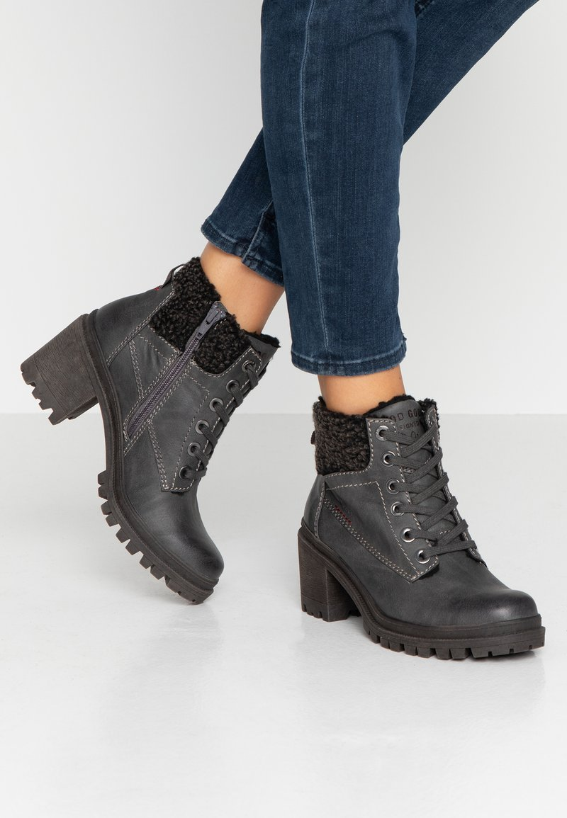 s.Oliver - Ankle Boot - graphite