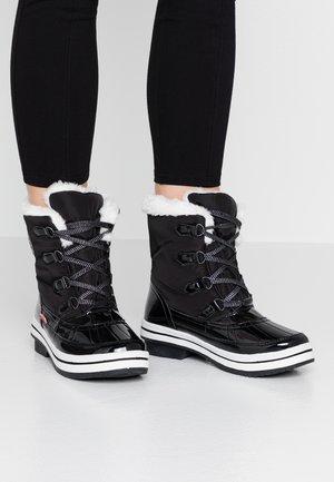 DA.-STIEFEL - Bottines à lacets - black