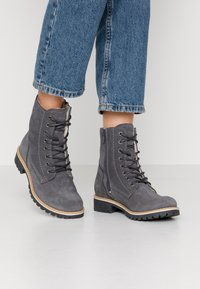 s.Oliver - Winter boots - grey - 0