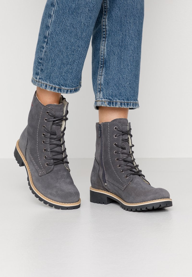 s.Oliver - Winter boots - grey