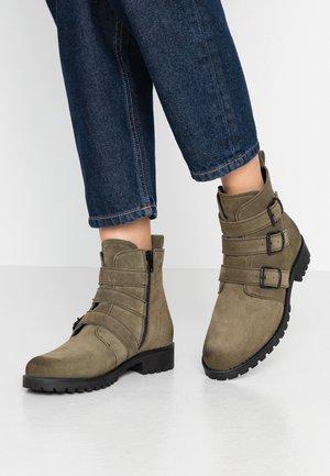 Korte laarzen - khaki