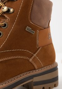 s.Oliver - Lace-up ankle boots - cognac - 2