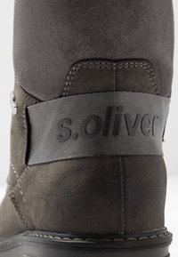 s.Oliver - Lace-up ankle boots - anthracite - 2