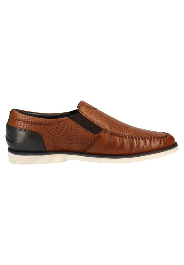 S.OLIVER SLIPPER - Loafers - cognac