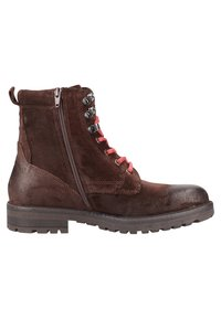 s.Oliver - Lace-up ankle boots - dark brown - 6