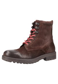 s.Oliver - Lace-up ankle boots - dark brown - 2