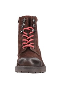 s.Oliver - Lace-up ankle boots - dark brown - 5