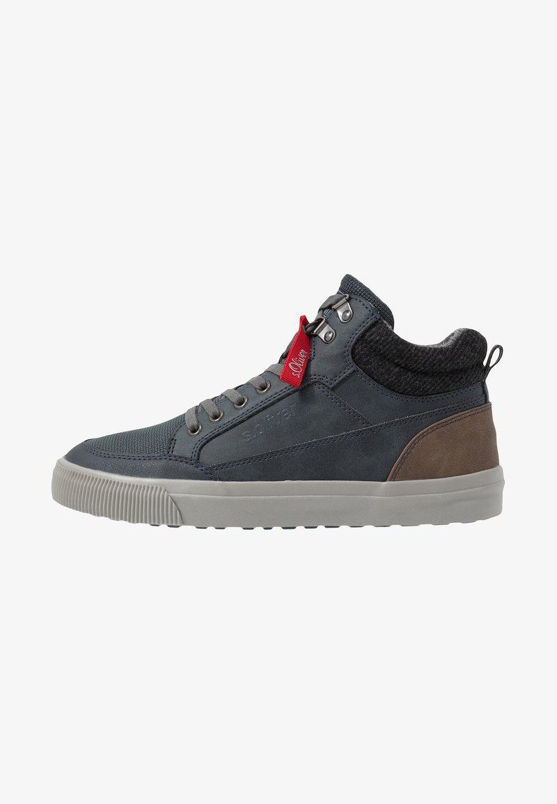 s.Oliver - Sneaker high - navy
