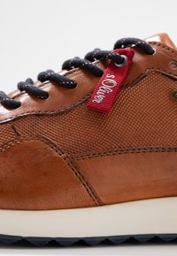 s.Oliver - Trainers - cognac - 5