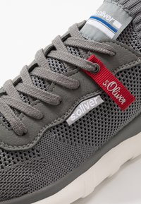 s.Oliver - Sneakersy niskie - grey - 5