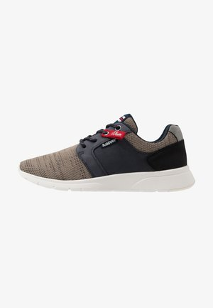Trainers - brown/navy