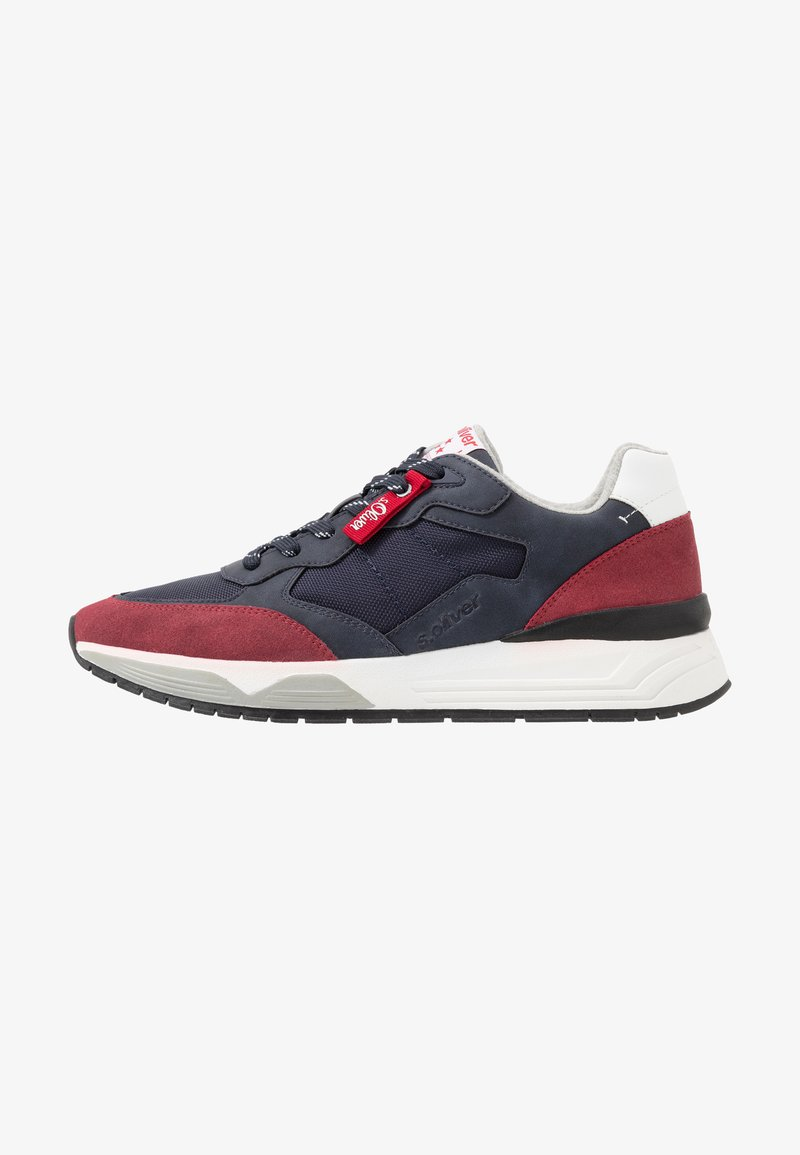 s.Oliver - Trainers - navy/red
