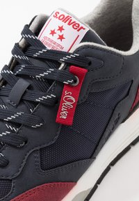 s.Oliver - Trainers - navy/red - 5
