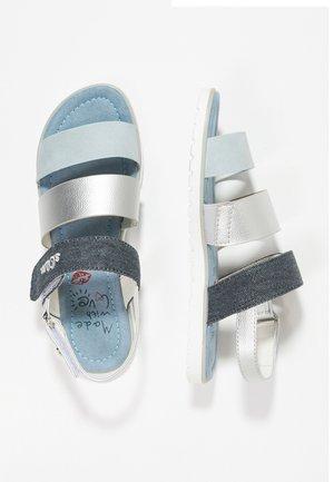 Sandales - light blue denim