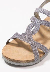 s.Oliver - Sandales - silver glitter - 2