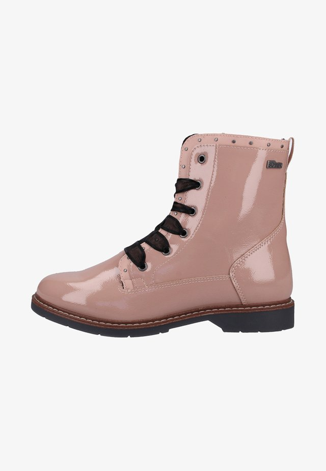 STIEFELETTE - Veterboots - light pink