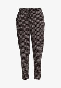 s.Oliver - Trousers - black - 3