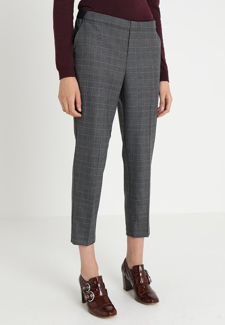 s.Oliver - SHAPE ANKLE - Trousers - grey glen