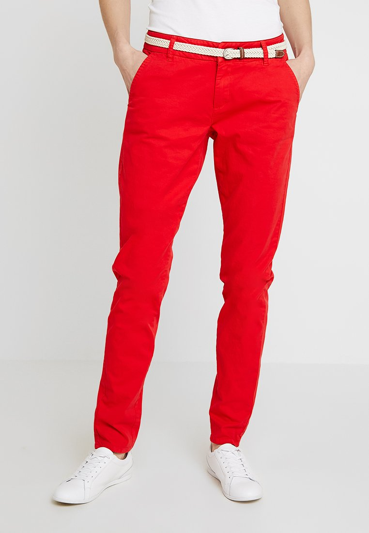 s.Oliver - SMART - Chinos - red