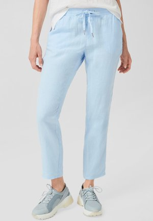 HOSE - Trousers - light blue