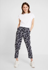 s.Oliver - Trousers - navy - 1