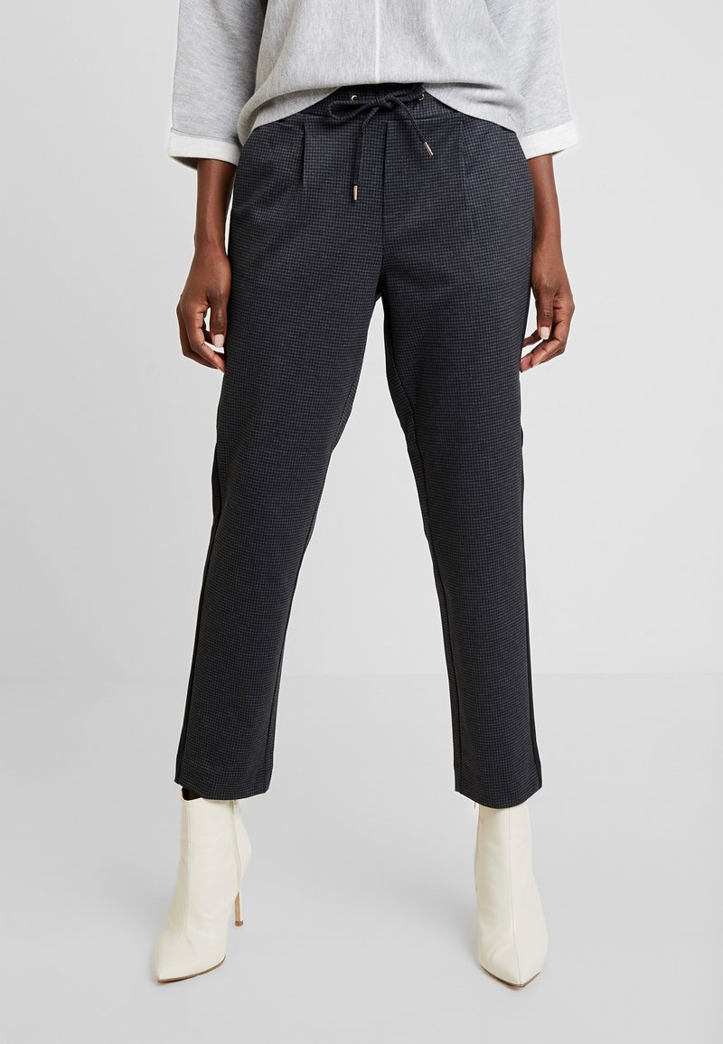 s.Oliver - Trousers - grey/black