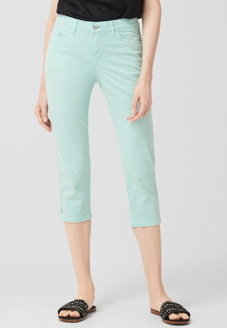 s.Oliver - Shorts - light mint