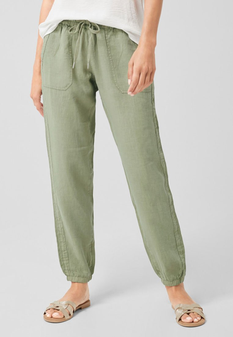s.Oliver - SMART CHINO FIT - Jogginghose - reed green