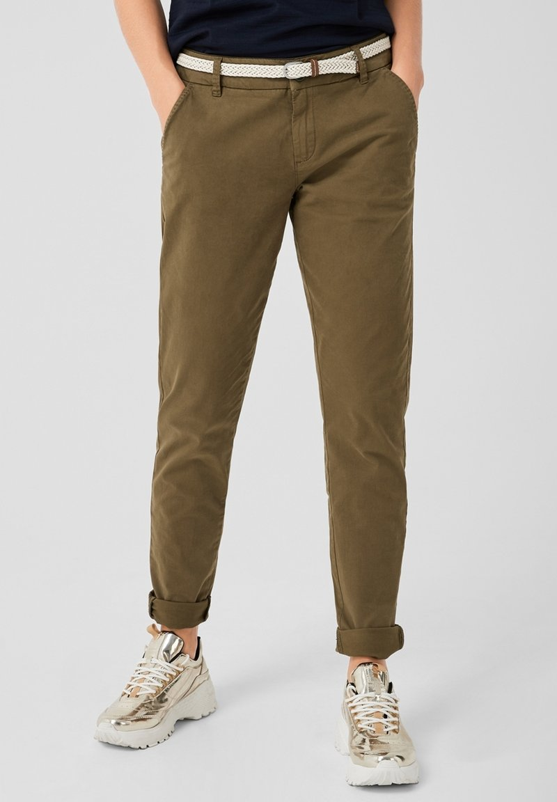 s.Oliver - Chino - military olive