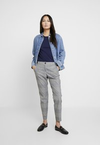 s.Oliver - Chinos - silver grey - 1