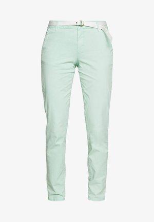 Chino kalhoty - blue green