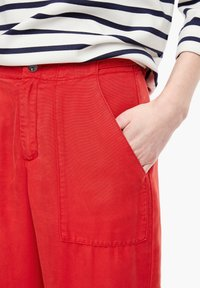 s.Oliver - Trousers - red - 4