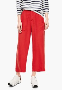 s.Oliver - Trousers - red - 0