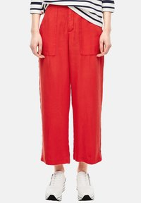 s.Oliver - Trousers - red - 3