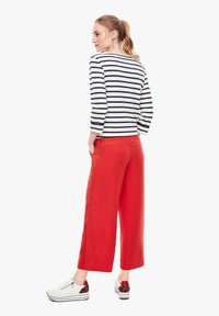 s.Oliver - Trousers - red - 2