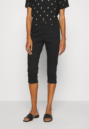 Jeans Short / cowboy shorts - black denim