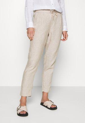 Kalhoty - taupe mela